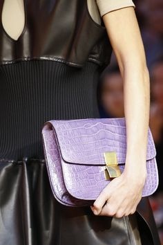 Céline - What can I say—lilac croc? I've already started saving.