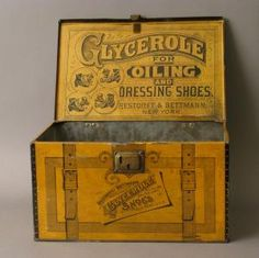 Glycerole for Oiling Tin ~ beautiful!