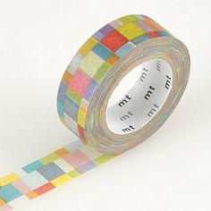 MT Mosaic Bright Washi Tape