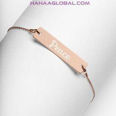 Engraved Bracelet, Name Bracelet, Silver Bar Necklace, Gold Name Necklace, Silver Jewelry, Silver Bars, Sterling Silver Pendants, Sterling Silver Bracelets, Elegant
