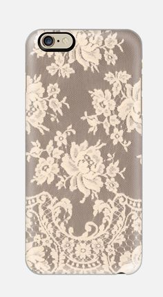 iPhone 6 Case Lace iPhone 6 case Floral by cellcasebythatsnancy