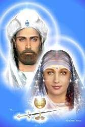 El Morya e Teresa *  Primeiro Raio