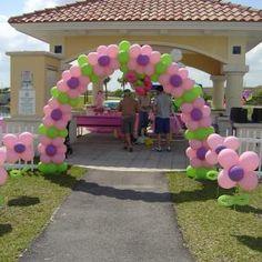 Flower Ballon arch