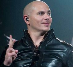 Pitbull The Singer, Pitbull Rapper, My Man, Sexy Men, Pitbulls, Dj, Leather Jacket, Christian, Celebrities