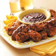 Best Barbecue Wings - Holiday Cottage