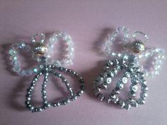 Handmade beaded angels