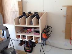 Nail Gun and Drill Holder - by shane306 @ LumberJocks.com ~ woodworking community