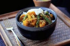 Pumpkin & lentil stew (vegetarian) - Delicious Magazine. Perfect for Winter