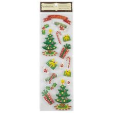 Recollections Signature Dimensional Stickers Christmas