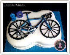 """Creando en azucar: Vista previa """"Torta de bicicileta"""""""
