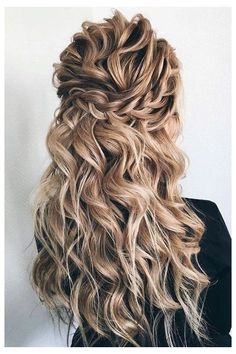Check Out Our , Beautiful Simple Twist Partial Updo Bridal Hairstyle Half Up Half, 32 Pretty Half Up Half Down Hairstyles – Partial Updo Wedding, Pretty Half Up Half Down Hairstyles Partial Updo Wedding Hairstyle. Box Braids Hairstyles, Hairstyles For Layered Hair, Wedding Hairstyles For Long Hair, Down Hairstyles, Bridal Hairstyles, Bridesmaids Hairstyles, Curly Braids, Anime Hairstyles, Stylish Hairstyles