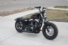Sportster 48 Winter Project - Harley Davidson Forums