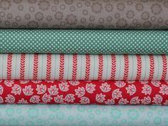Verona Fabric Bundle ONE YARD of each print by Emily Taylor Designs for Riley Blake. $42.50, via Etsy.