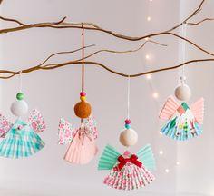 Adorable & super easy diy Christmas ornaments