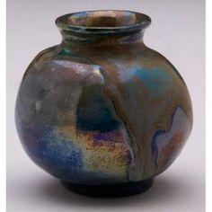 Pewabic Pottery Prices | 90 pewabic vase miniature pewabic vase miniature bulbous form covered ...