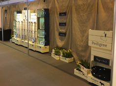pedigree tools trade stand 1 Food Retail, Apple Crates, Retail Displays, Trade Show, Pet Store, Exhibitions, Events, Tools, Furniture
