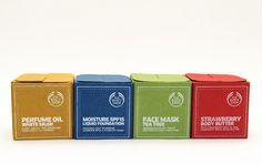 The Body Shop Packaging Design Brief by Owen Magee, via Behance
