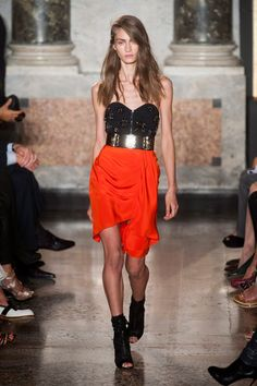 Emilio Pucci at Milan Fashion Week Spring 2014 - StyleBistro