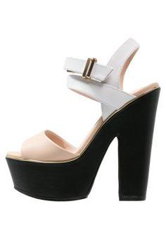 LENNI2 - Korkeakorkoiset sandaalit - multicolor