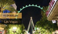 High Roller a mais alta roda gigante do mundo fica em Las Vegas. Hohe tem post lá no blog sobre nossa visita por lá #lasvegas #highroller #thelinq #rodagigante #vivalasvegas #instatravel #travelphotography #oquefazeremlasvegas #familiaviagem #vegaslife #whhsh