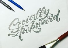 #goodtype Handlettering sketched