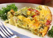 Veggie Frittata...  Delicious recipes featuring Daisy Brand® Sour Cream