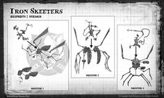 Iron Skeeters — Wyrd Games