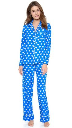 Heart jammies from Shop Bop