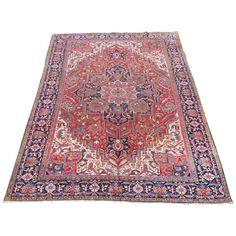 Antique Persian Heriz carpet Rugs on carpet, Carpet