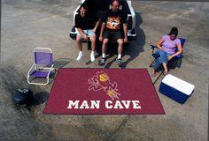 Arizona State University Man Cave UltiMat Rug
