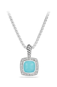 42c1b4b316a3 David Yurman Petite Albion® Pendant Necklace with Diamonds David Yurman
