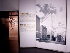 Exposition en toile translucide imprimée