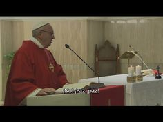 """Papa en Santa Marta: """"No existe un dios de la guerra, el que hace la guerra es el diablo"""" - ROME REPORTS"""