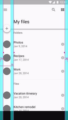 app design guide line Wireframe Design, Dashboard Design, App Ui Design, Interface Design, Grid Web Design, Web Grid, Material Design Web, Google Material Design, Mobile App Design