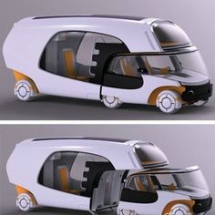 Creative touring car design will start carpooling and STOP GLOBAL WARMING!!!