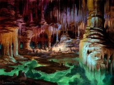 Molgrum, tierra de enanos.  Imagen de Paul Lasaine.