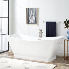 69 Newhaven Acrylic Freestanding Slipper Tub