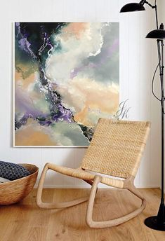 Abstract Oil Painting Texture Painting Gold Painting This is an original professional painting right from my favorite studio. Signature front and back. DETAILS * Name: Abstract Energy 2018 * Painter: Julia Kotenko * Size: 51 x 39 (130x 100 cm) * Original handmade oil painting on