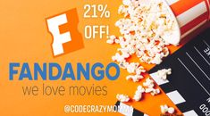 Fandango, up to off eGift cards, save big before going to the movie theater buying a discount gift card first! Free Gift Cards, Free Gifts, Modelo Beer, Baked Turkey Wings, Florida Location, Discount Gift Cards, Love Movie, Free Food, Whole Food Recipes
