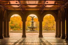 Bethesda Fountain, Central Park by @rtanphoto New York City Feelings The Best Photos and Videos of New York City including the Statue of Liberty, Brooklyn Bridge, Central Park, Empire State Building, Chrysler Building and other popular New York places and attractions