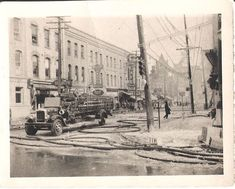 to March 1944 and a fire at Bassett Jewelry. This was located at 1 Simcoe Street South (SE Corner). March, Corner, Museum, Fire, Street, Painting, Vintage, Jewelry, Instagram