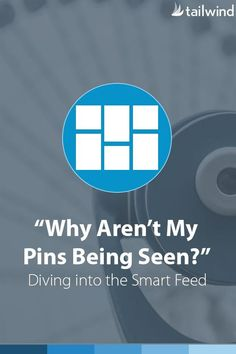 """""""Why Aren't My Pins Being Seen?"""" Diving Into The Pinterest Smart Feed. Excellent in-depth article! (scheduled via http://www.tailwindapp.com?utm_source=pinterest&utm_medium=twpin&utm_content=post79938239&utm_campaign=scheduler_attribution)"""