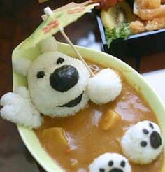 bear with curry