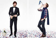 Marlon Teixeira & RJ King Model Holiday Looks for Tommy Hilfiger image tommy hilfiger holiday 2013 collection