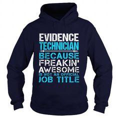 EVIDENCE TECHNICIAN T Shirts, Hoodies. Get it here ==► https://www.sunfrog.com/LifeStyle/EVIDENCE-TECHNICIAN-Navy-Blue-Hoodie.html?41382