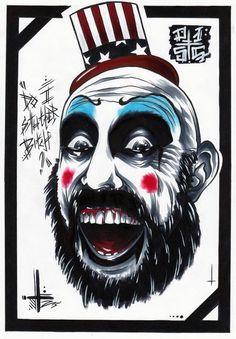 Captain Spaulding  by PapercutsCustoms
