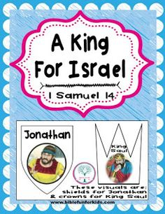 Bible Fun For Kids: Cathy's Corner: A King for Israel