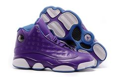 "Discover the 2016 Girls Air Jordan 13 ""Hornets"" Purple/Orion Blue For Sale Super Deals group at Pumaslides. Shop 2016 Girls Air Jordan 13 ""Hornets"" Purple/Orion Blue For Sale Super Deals black, grey, blue and more. Jordan 13, Nike Air Jordan, Zapatos Nike Jordan, Air Jordan Shoes, Jordan Xiii, Jordan Retro, Jordan Store, New Jordans 2017, New Jordans Shoes"