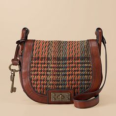 cute crossbody bag...and great for fall!