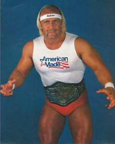 Hulk Hogan - American Made Big Drama, Wrestling Stars, Andre The Giant, Wrestling Superstars, Wwe Champions, Wwe Wallpapers, Hulk Hogan, Professional Wrestling, Role Models